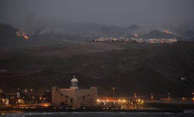 Fuego en el corazón de Gran Canaria #FuerzaGranCanaria