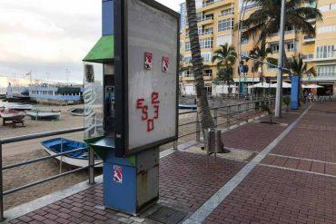 ¿ Por qué debemos quitar las cabinas telefónicas de Las Canteras y de sus calles cercanas ?