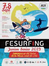 Surfing junior este fin de semana en la Cicer por la conmemoración del patrón de la policía local de LPGC