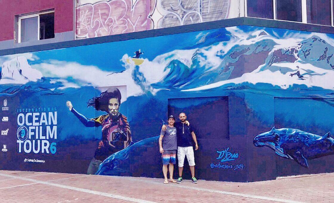 Un nuevo mural decora la Cicer