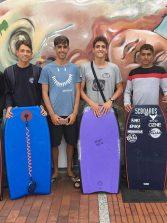 El equipo canario de bodyboard viaja al mundial junior de Portugal a repetir los éxitos del año pasado
