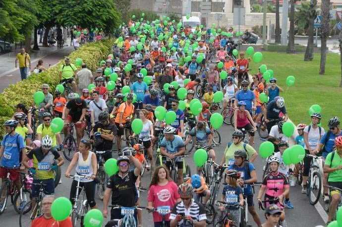 «Fiesta de la Bici» este domingo 22 entre Belén María y la Fuente Luminosa