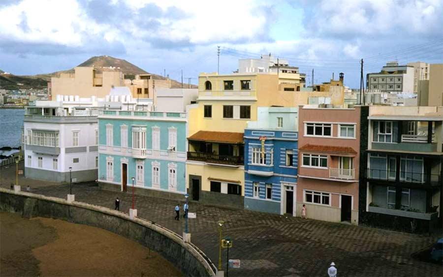 La Playa Chica en 1965