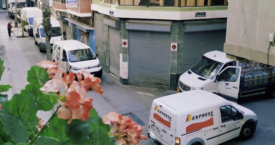 Torres Quevedo ¿calle peatonal?