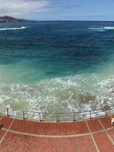 El mar se mancha por la arcilla