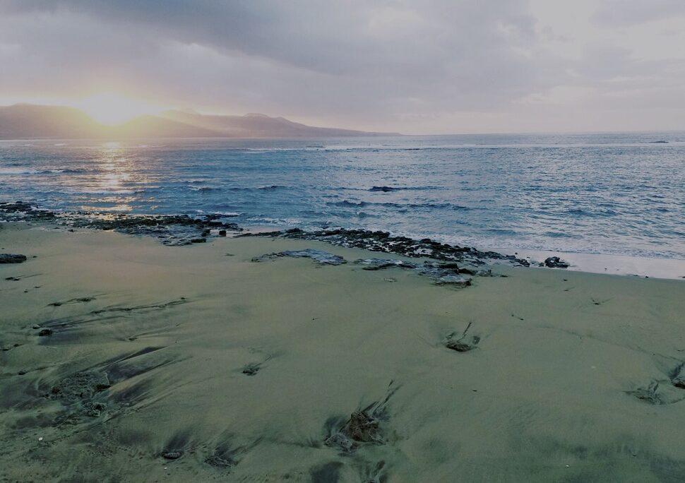 Ocaso desde Playa Chica