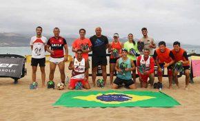 Este sábado 9 se celebra sobre la arena de Las Canteras el torneo de futvoley del 109 Aniversario del R.C. Victoria