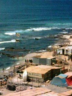 La playa de El Confital en los años ochenta. Vídeo