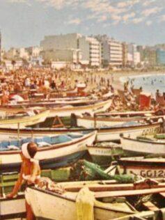 Años sesenta: los turistas disfrutan de Las Canteras