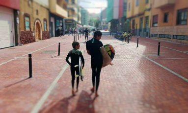 Guanarteme, el barrio surfero