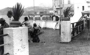 La Playa Chica en los años 80