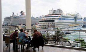Seis cruceros llegan a Santa Catalina este fin de semana