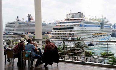 Los cruceros mantienen en enero su fidelidad a la capital grancanaria