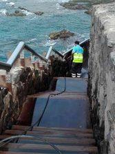 Tras nuestra denuncia Ciudad de Mar limpia los accesos a El Confital