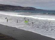 Ciudad de Mar impulsa la práctica inclusiva del surf en la capital con unas jornadas sobre surf adaptado