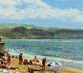Un día de playa en 1964