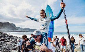 Iballa Ruano, Wellington Reis y Maximilian Torres brillantes campeones  del Gran Canaria Pro-Am 2019 de paddle surf