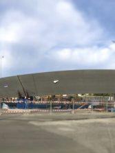 Según el concejal Doreste, la pasarela Onda Atlántica estará finalizada antes del verano
