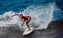 Criere y Martiño, campeones de España de Surf en la playa de la Cicer