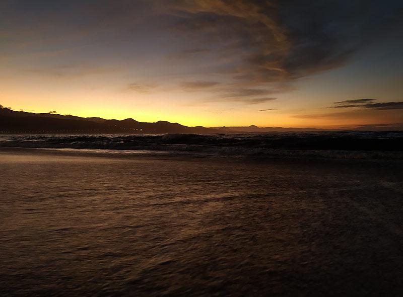Ocaso en Las Canteras