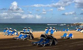 Preocupación en Las Canteras por el bajón del turismo