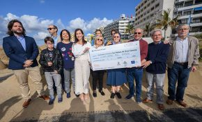 El Belén de Arena despide su 14 edición con  215.000 visitantes y 24.000 euros para los comedores sociales
