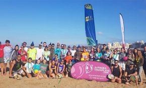 La catalana Eva Fernández se corona en los tres Torneos Suzuki Beach Tennis en Las Canteras