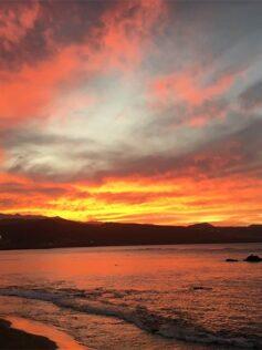 Espectacular puesta de Sol