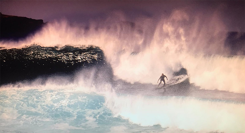 Surfeando en el Lloret