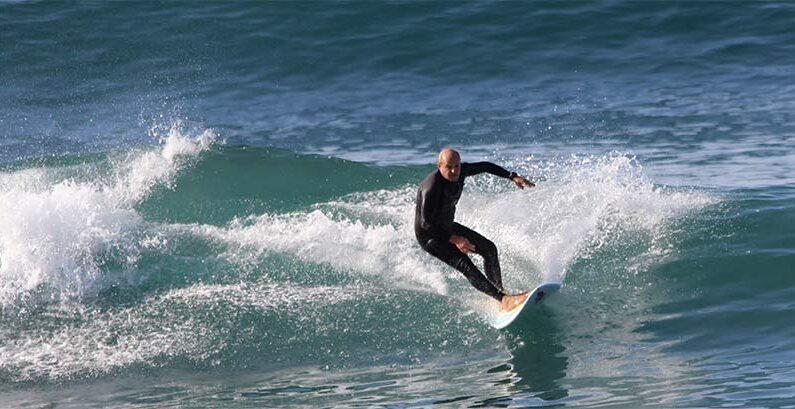 Surf en Las Canteras. Las olas para hoy