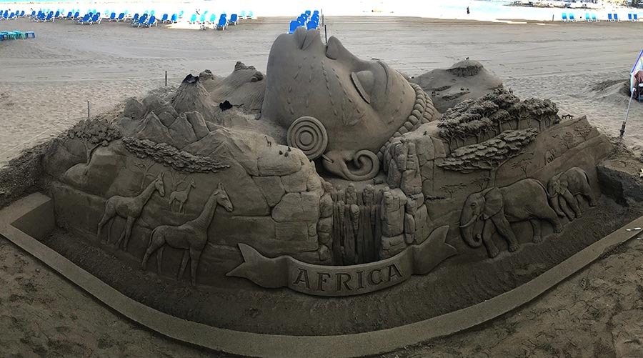 África, la nueva obra de arena de los hermanos Ojeda