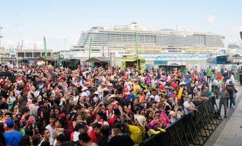 Los cruceros se apuntan al fin de semana grande del Carnaval