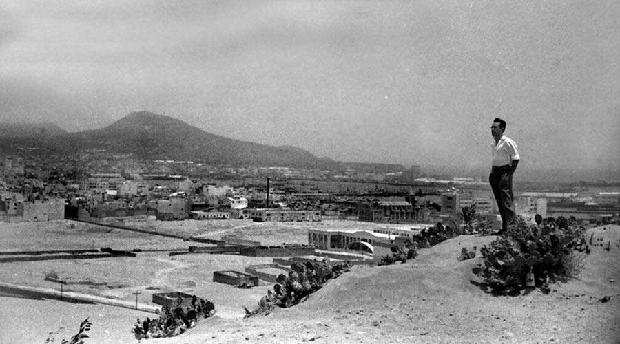 Las arenas que unían Santa Catalina con Guanarteme