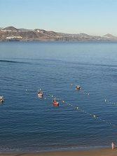 Así luce el fondeadero de La Puntilla tras los trabajos en el canal y la retirada de embarcaciones