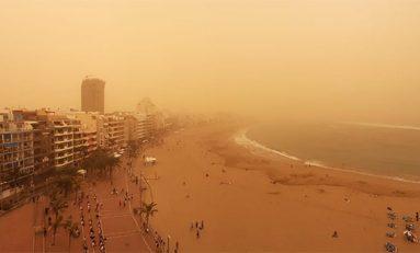 Polizones de la calima: miles de millones de microbios viajan en las tormentas de polvo