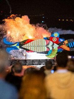 La sardina carnavalera llegará a Las Canteras sobre las 20:30 horas