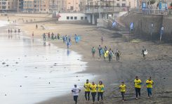 Ciudad de Mar y las escuelas de surf ordenan la actividad deportiva en la zona de la Cicer de cara al verano
