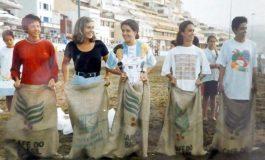 1998: carreras de sacos