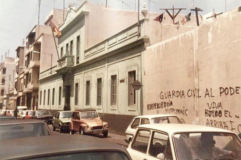 El histórico cuartel de la Guardia Civil en la calle Diderot