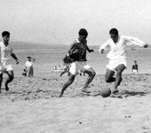 Fútbol en Las Canteras, años 50