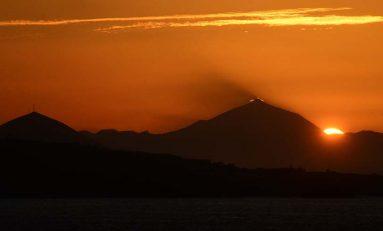 "La ""cresta"" del Teide"