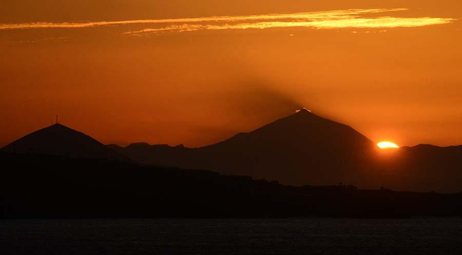 La «cresta» del Teide