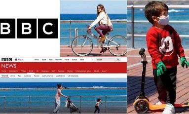 Las Canteras, en la BBC en el día en el que los niños pudieron salir a la calle en España