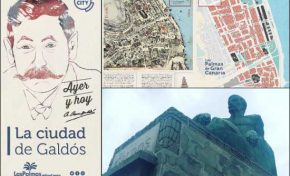 El Ayuntamiento realizará una gran escultura de arena de Galdós en Las Canteras