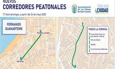 El Ayuntamiento habilita este domingo para el peatón parte de la calle Fernando Guanarteme