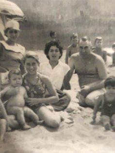 La familia Quintana Ramos en los años cincuenta