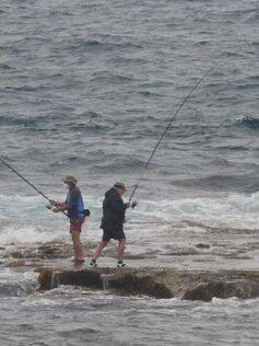 Pescando desde la Barra en el estado de alarma