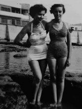 Posando en Los Lisos de los años 50