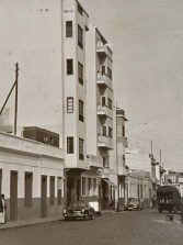 1958-1960: calle Prudencio Morales en La Puntilla