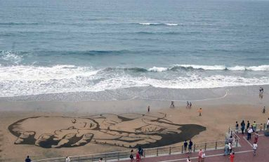 La playa de Las Canteras se convertirá en un enorme lienzo al aire libre con motivo del Día Mundial de los Océanos